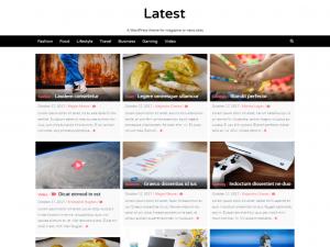 Latest WordPress theme-websiteroof